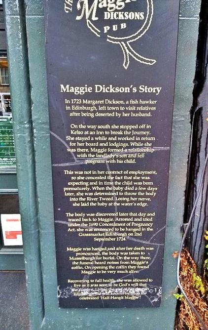 maggie dickson - edimburgo pub