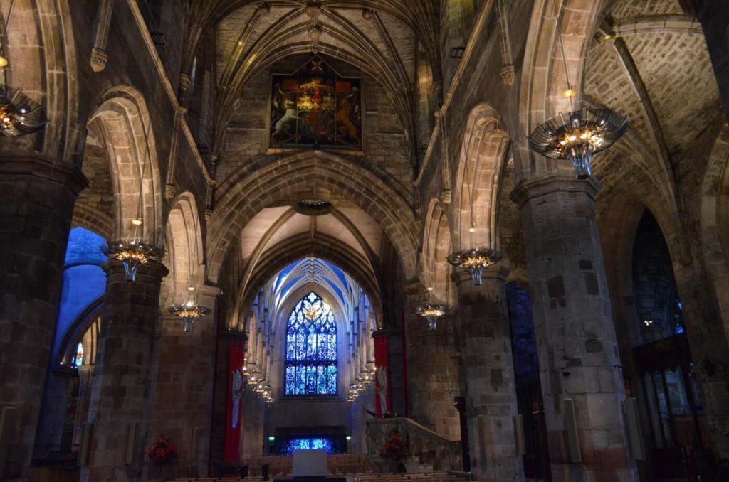 la cattedrale di St giles - cosa vedere a edimburgo