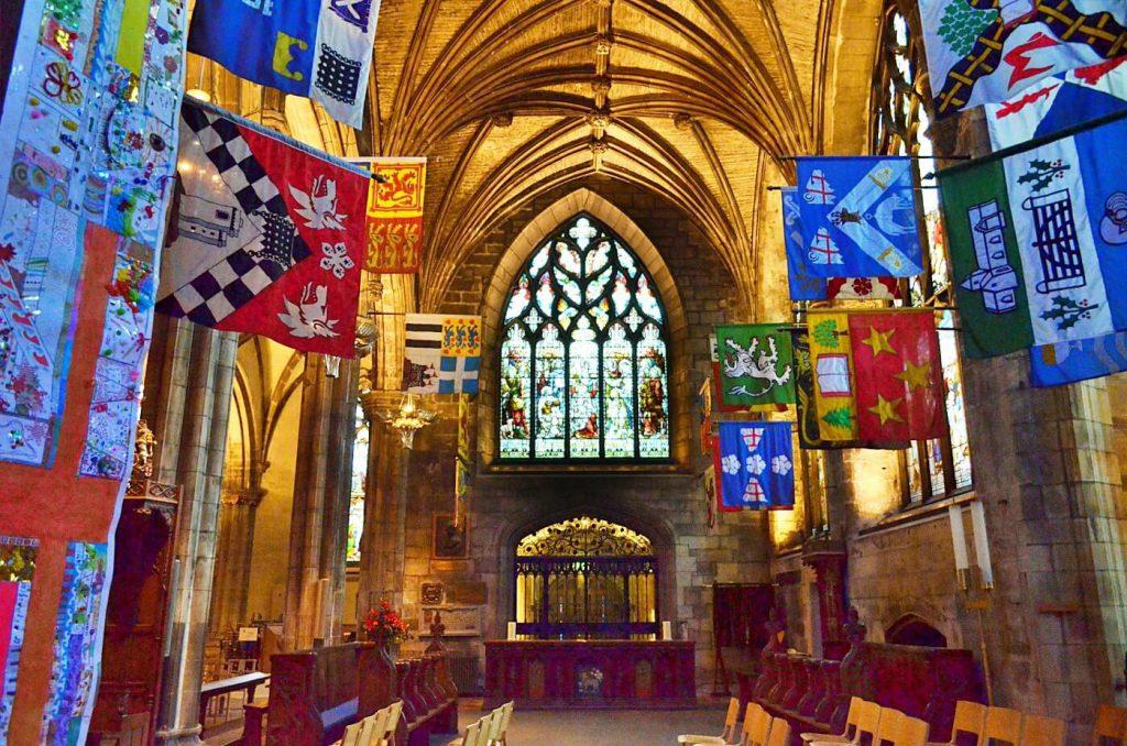 The Preston Aisle - st giles edimburgo - saint giles cathedral