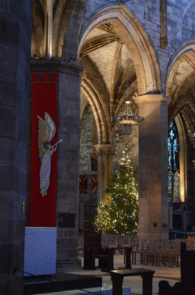 la cattedrale di St giles - edimburgo