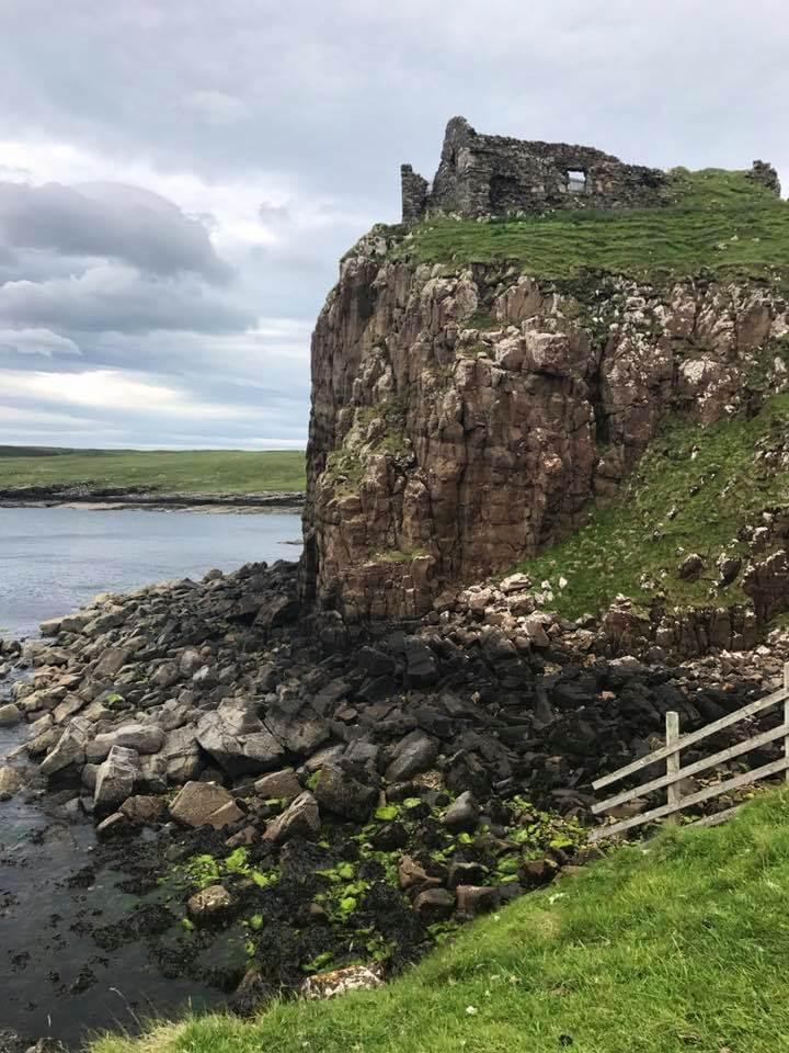 duntulm castle - isola di skye