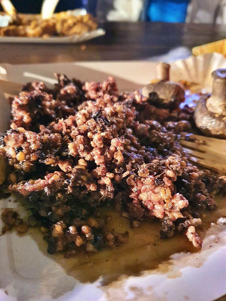 haggis scozzese - mangiare cibo locale