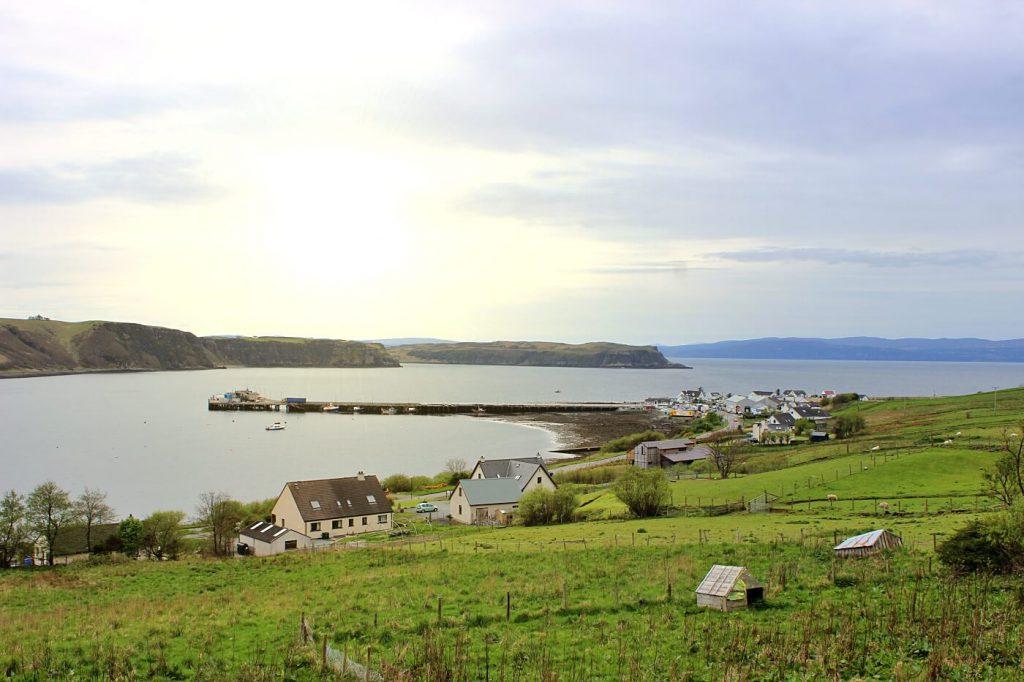 isola di skye scozia - uig - skye island