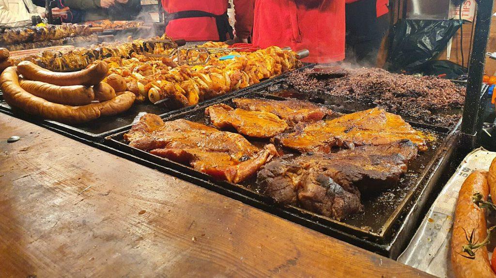 street food - mangiare piatti tipici