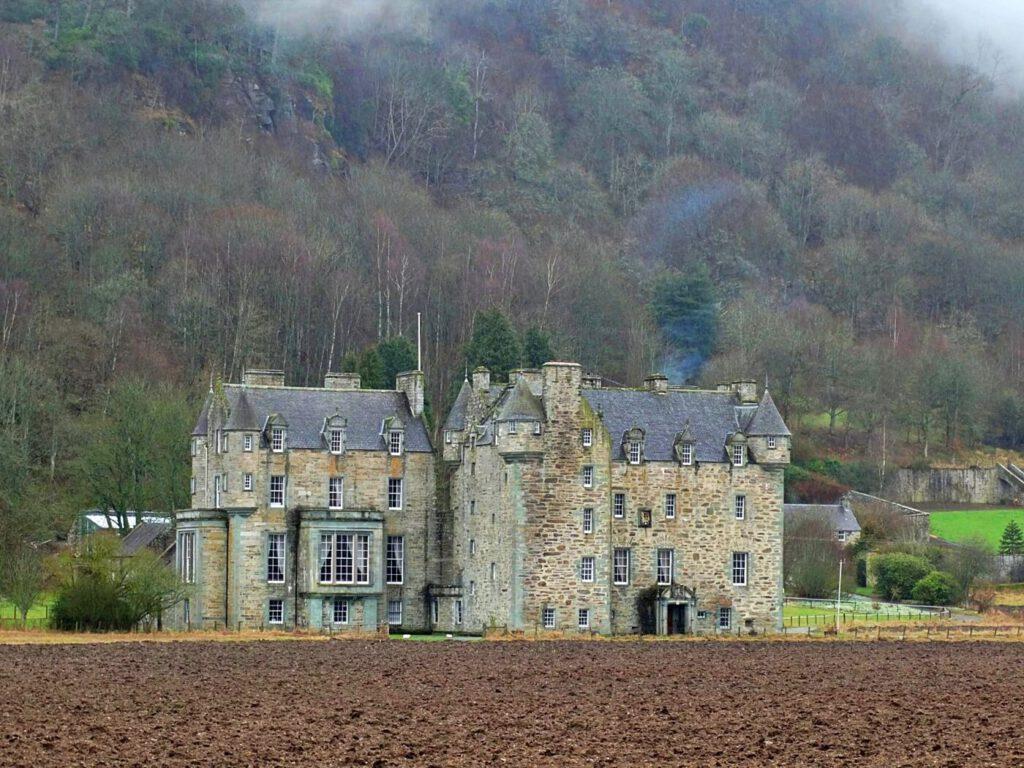 Castle Menzies scozia - castelli stregati della scozia