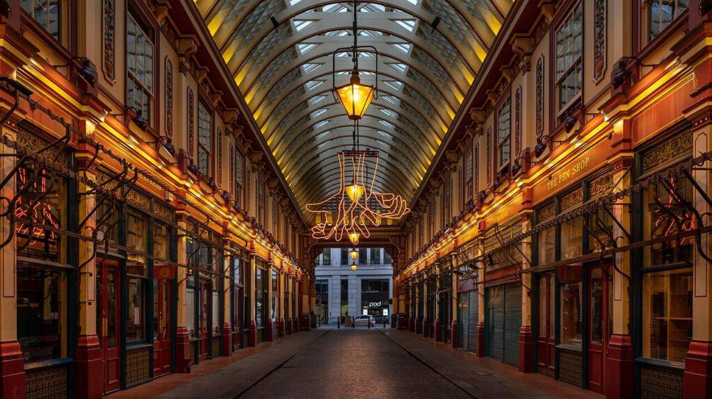 Leadenhall Market - diagon alley londra - harry potter londra