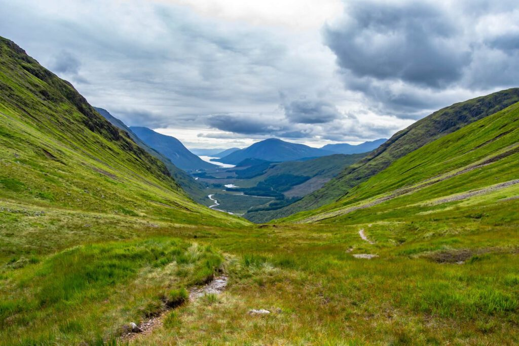 glen etive - luoghi harry potter in scozia