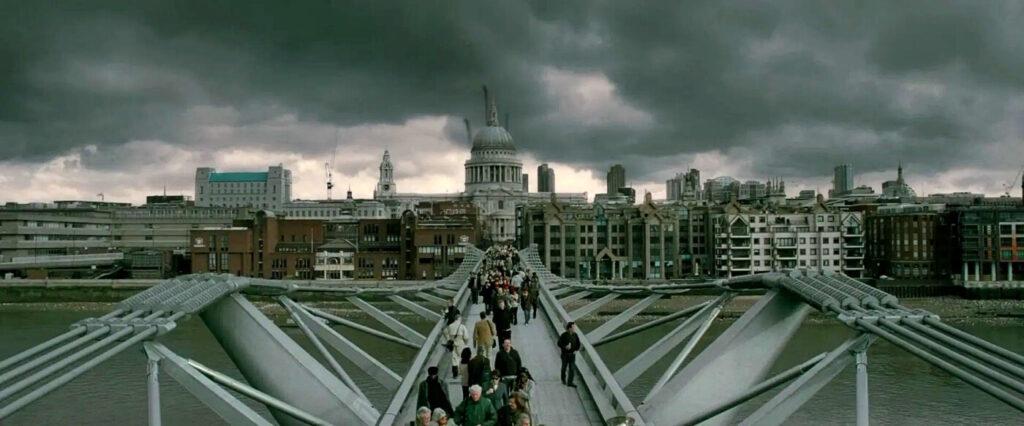 millennium bridge harry potter - ponte harry potter londra - harry potter luoghi londra