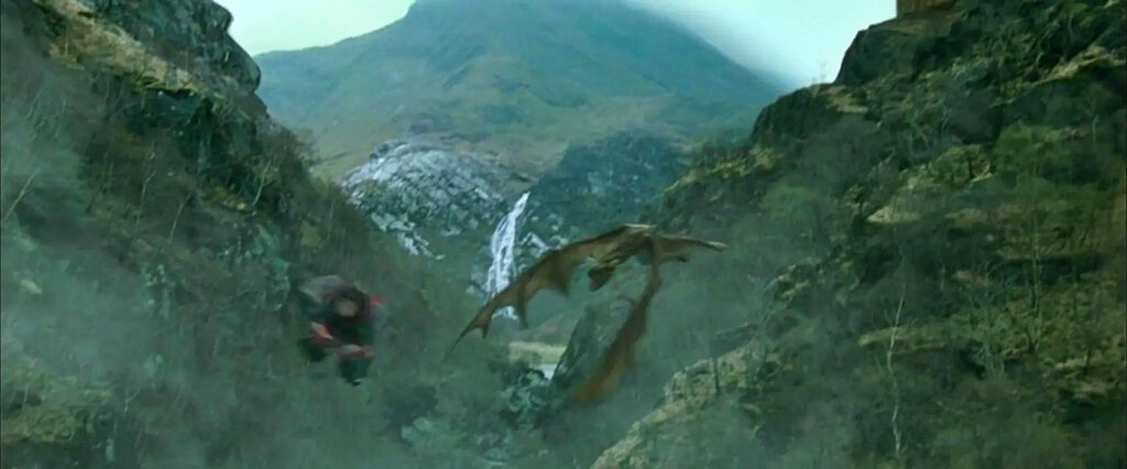 steall waterfalls - harry potter e il calice di fuoco