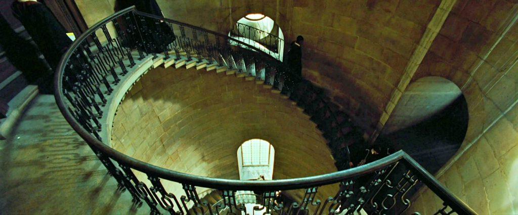 scalinata Harry Potter