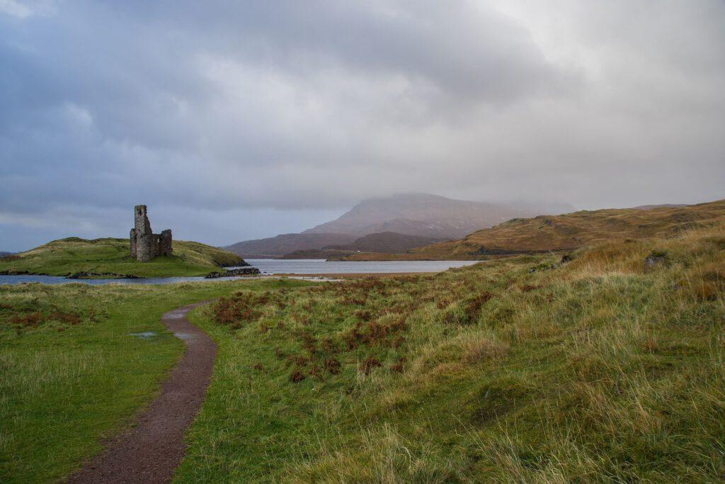 Ardvreck Castle - castelli scozzesi - itinerari scozia