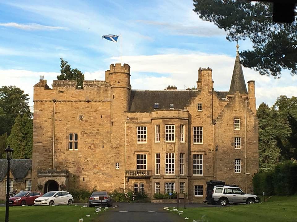carberry tower - castelli dove dormire in scozia - dormire in un castello in scozia