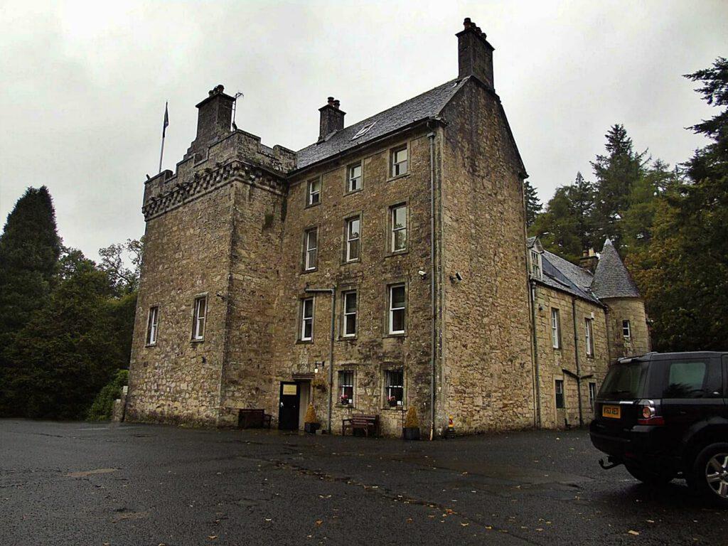 culcreuch castle - scozia dormire in un castello - castelli dove dormire in scozia