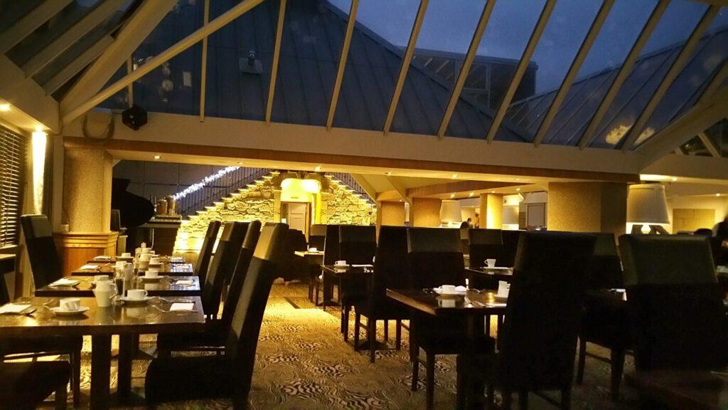 airth castle hotel - alloggiare in un castello in scozia