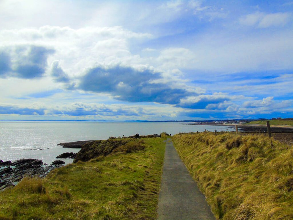 arbroath sea cliffs - arbroath coastal path