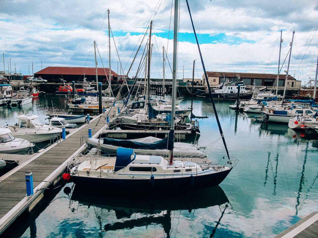 arbroath harbour - il porto di arbroath