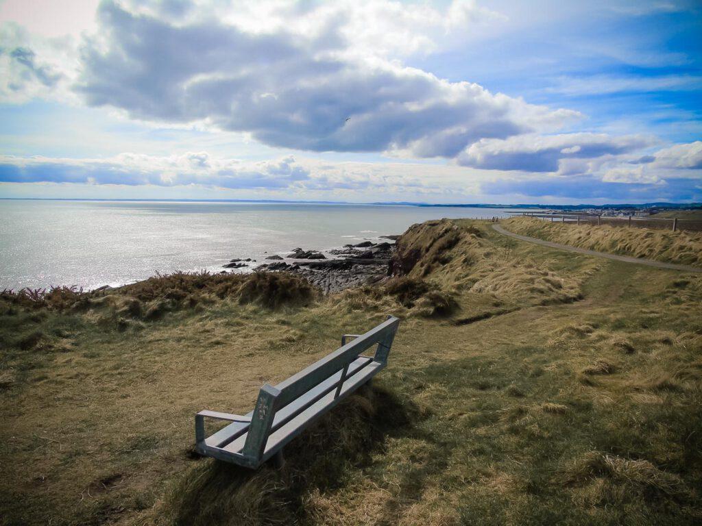 arbroath sea cliffs