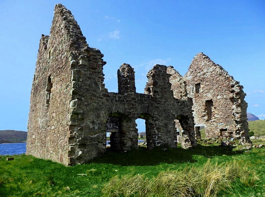 calda house - loch assynt - highlands scozzesi