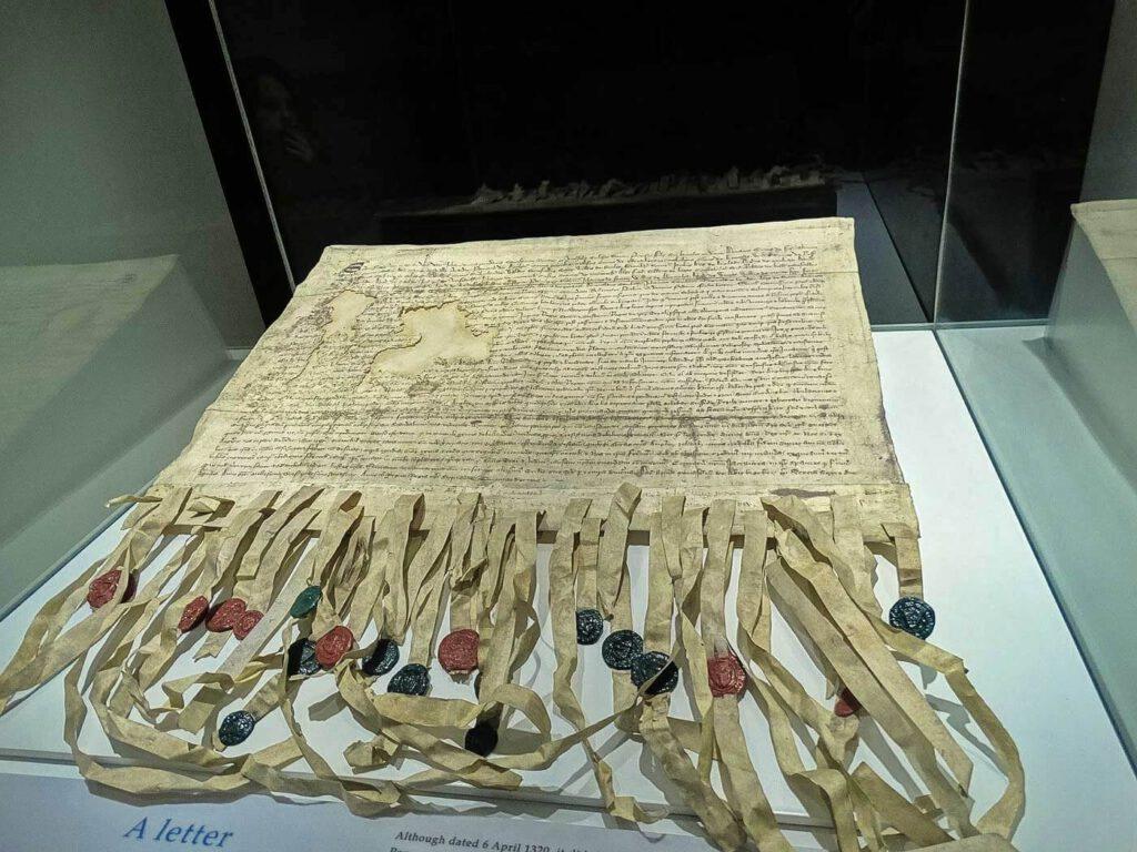 declaration of arbroath - la dichiarazione di arbroath - indipendenza della scozia