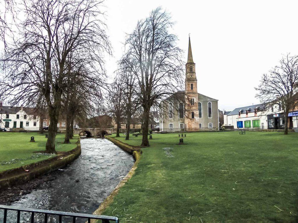 Strathaven - scozia - ayrshire