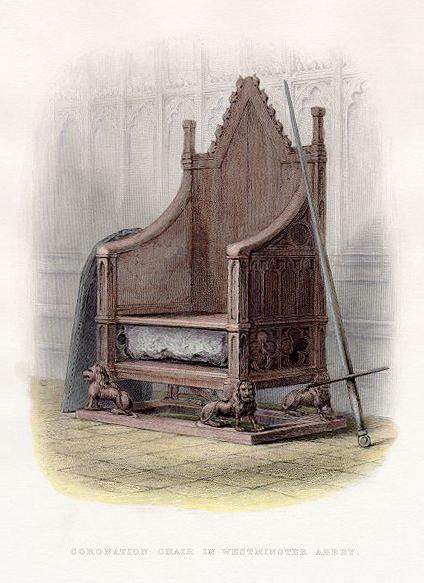 la sedia di re Edordo -
