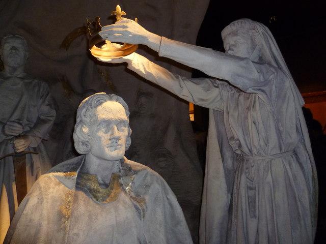 incoronazione di robert the bruce - scone - stone of scone