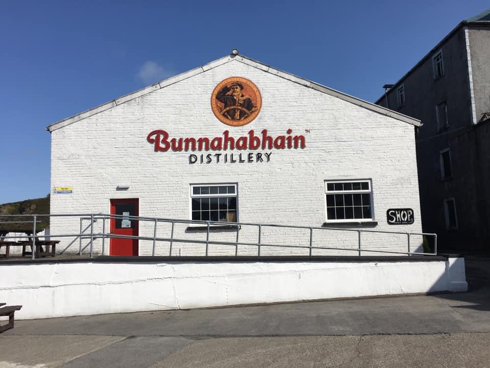 bunnahabhain- whisky delle isole - islay - scozia distillerie