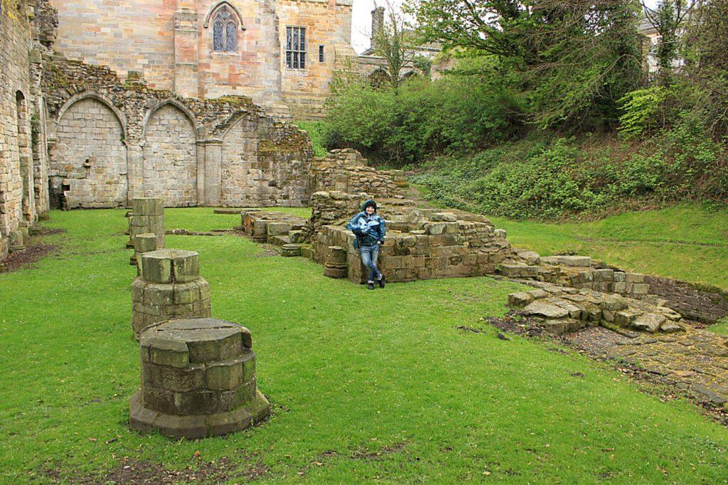 culross abbey - outlander in scozia