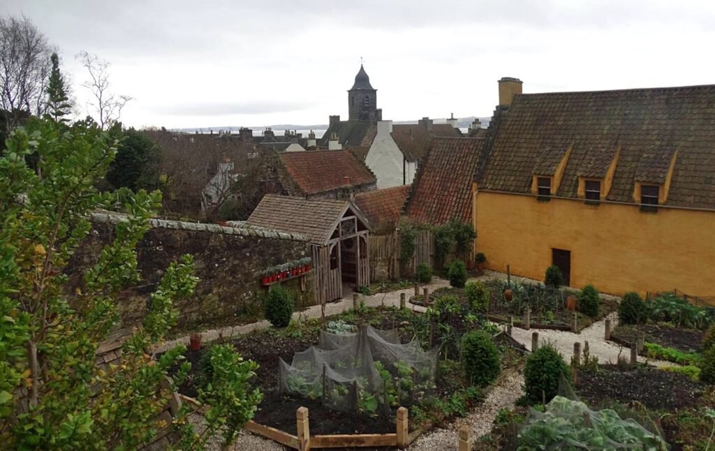 culross palace - outlander in scozia