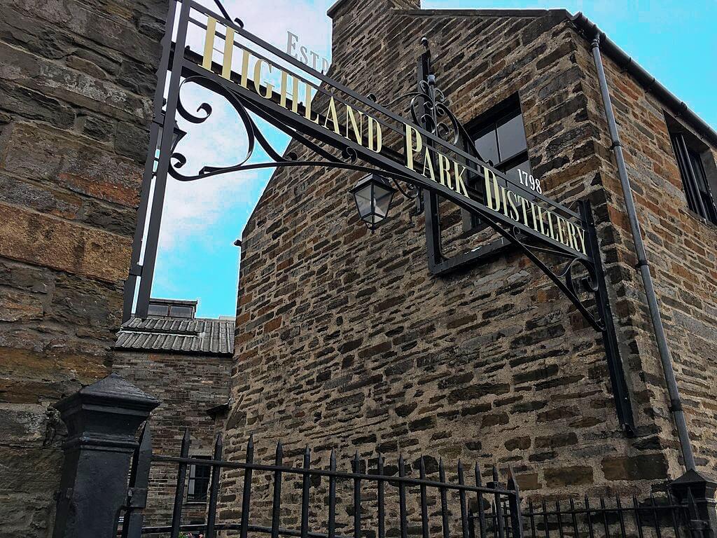 highland park distillery - whisky isole - distillerie in scozia