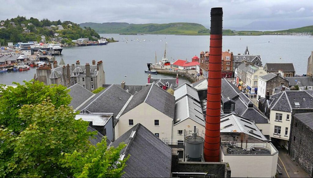 distillerie in scozia - oban distillery - whisky scozia - whisky della highlands