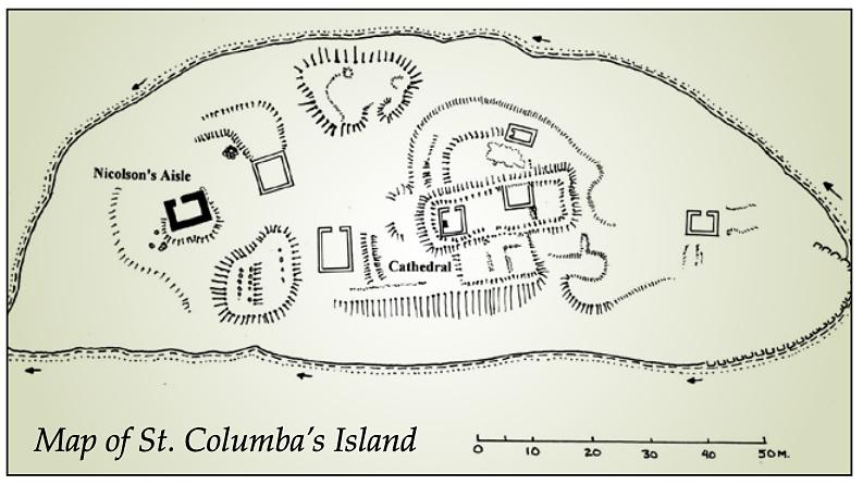 st columba's isle - mappa