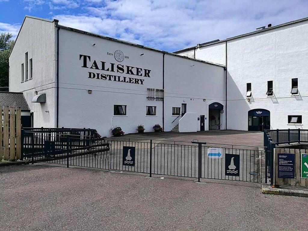 talisker distillery - whisky delle isole - isola di skye - scozia whisky