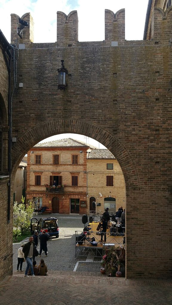 piazza unità d'italia - montecassiano cosa vedere