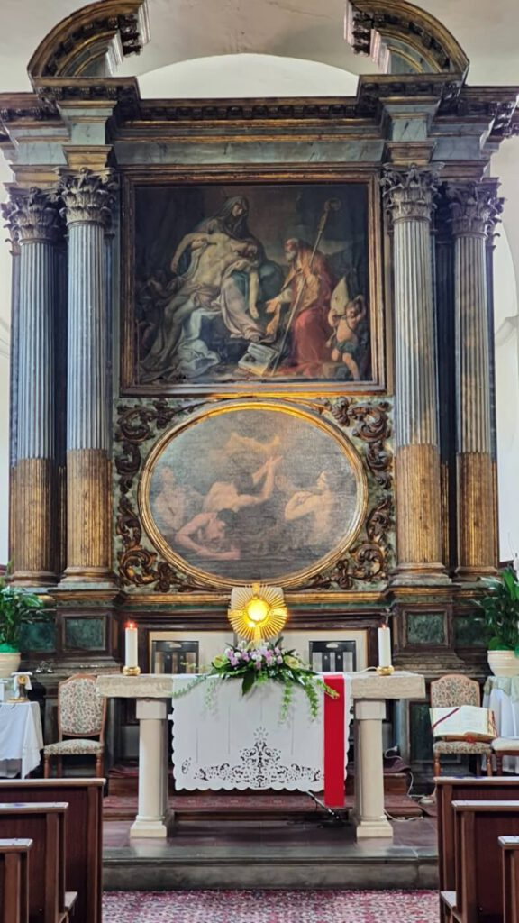 chiesa di sant'agostino - vecchio incasato grottammare