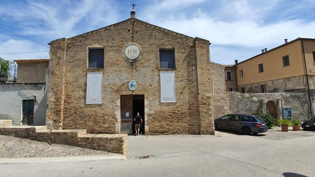 chiesa di st agostino - cosa vedere a grottammare alta