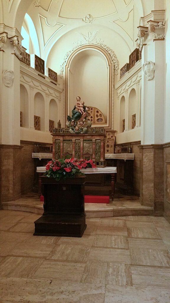 chiese marche - collegiata santa maria - montecassiano cosa vedere