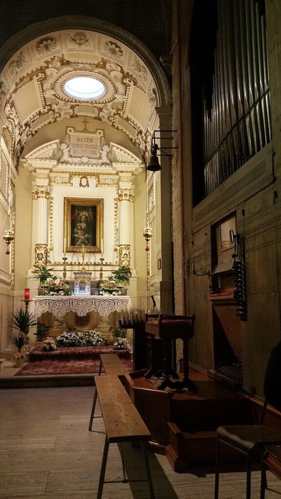 collegiata santa maria assunta - montecassiano marche