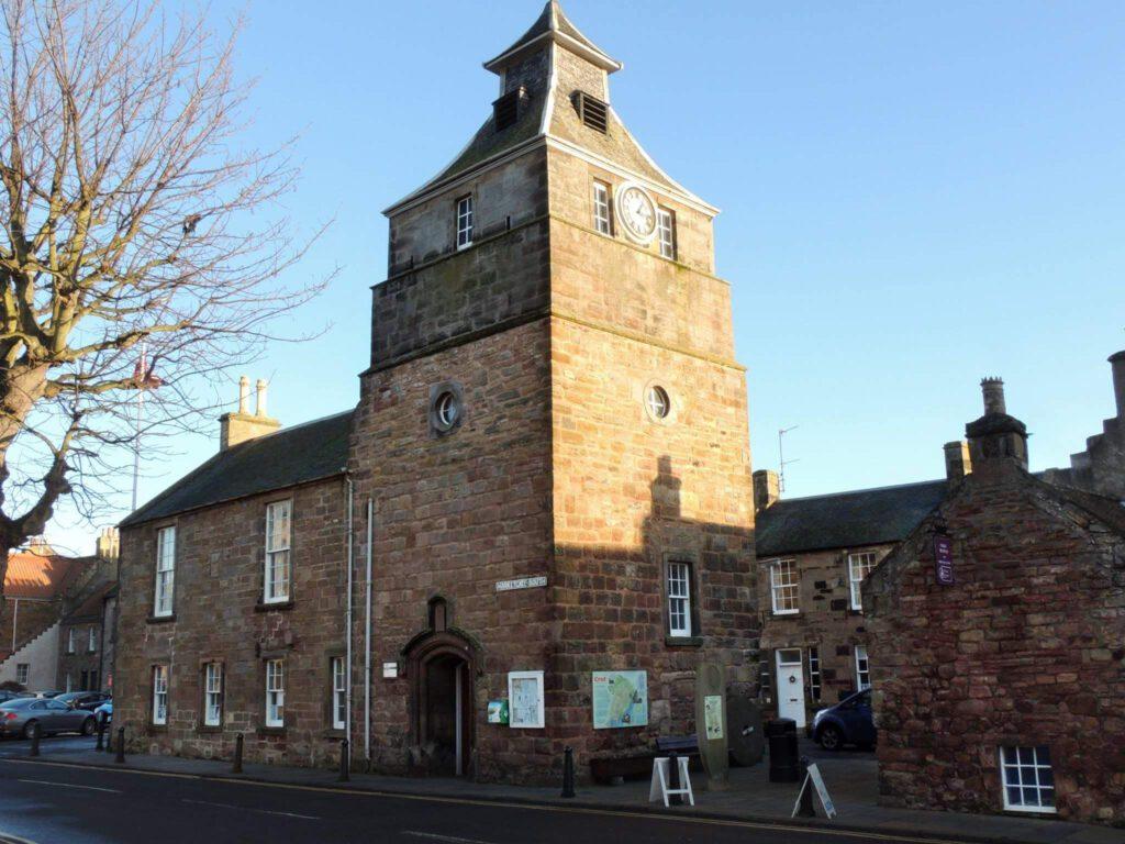 Tolbooth of crail - musei in scozia