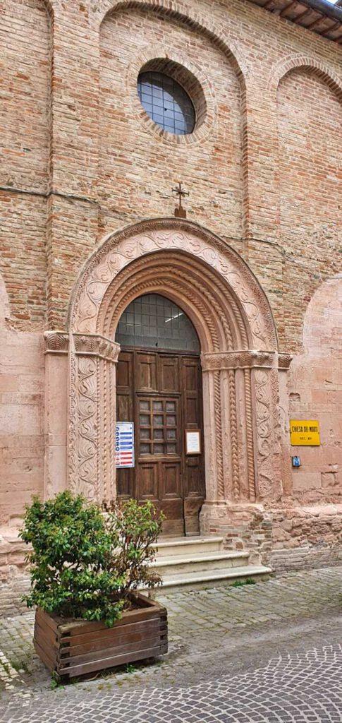 chiesa dei morti - urbania marche