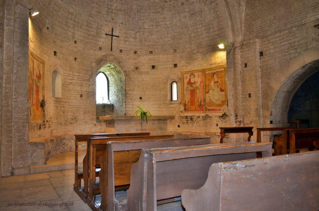 abbazia di san vittore alle chiuse, gola del furlo