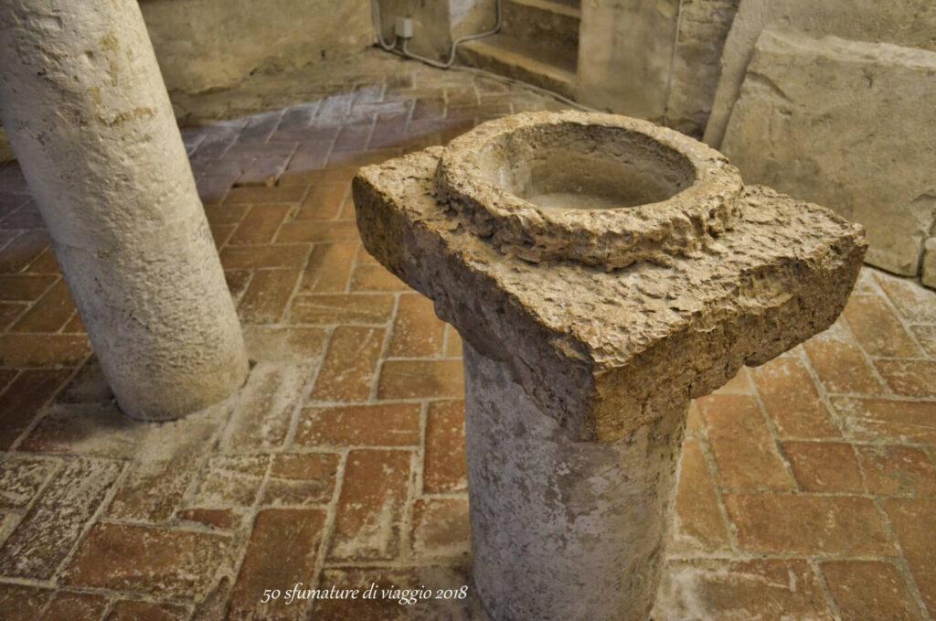 cripta abbazia di san vittore, chiesa abbaziale di san vincenzo al furlo