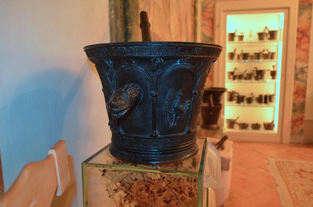 la sala dei mortai, aboca museum sansepolcro