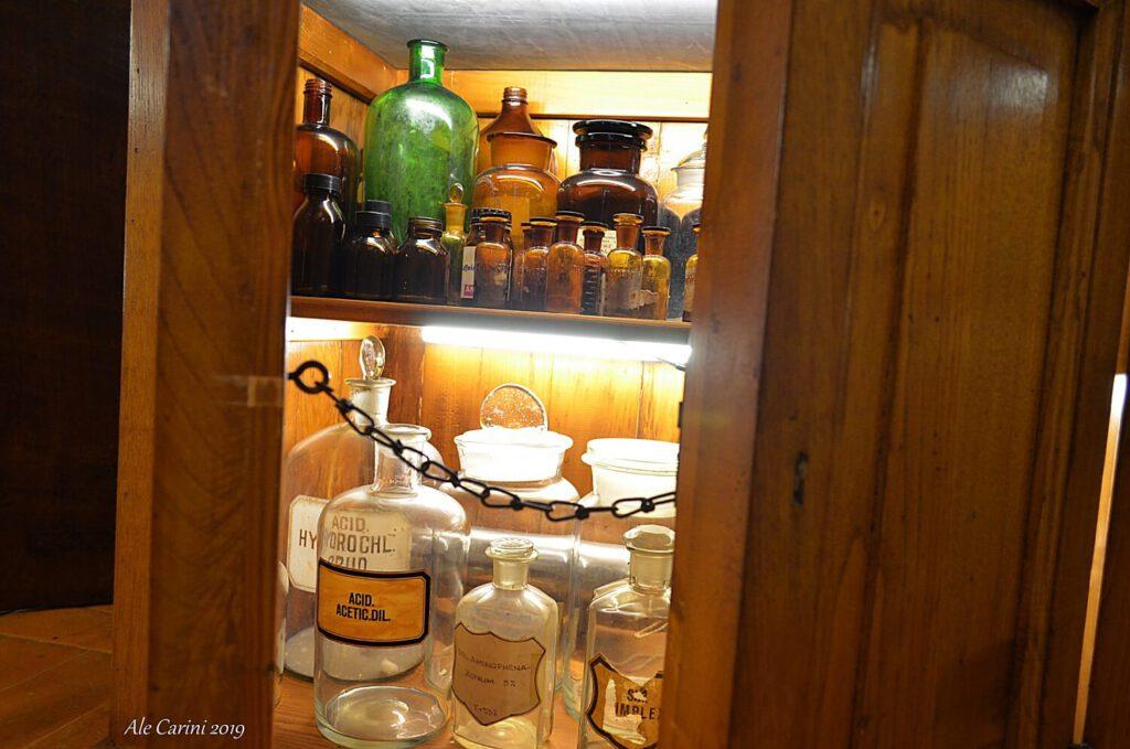 la stanza dei vetri, museo aboca sansepolcro