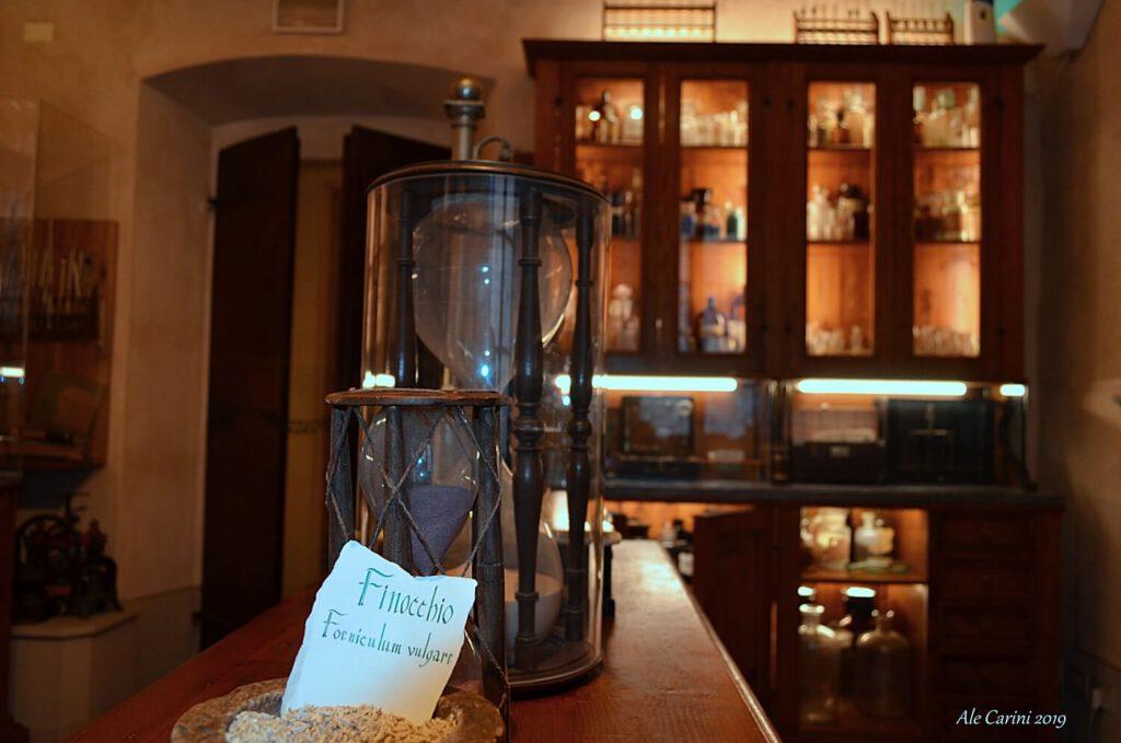 il laboratorio fitochimico, aboca museo, aboca erbe