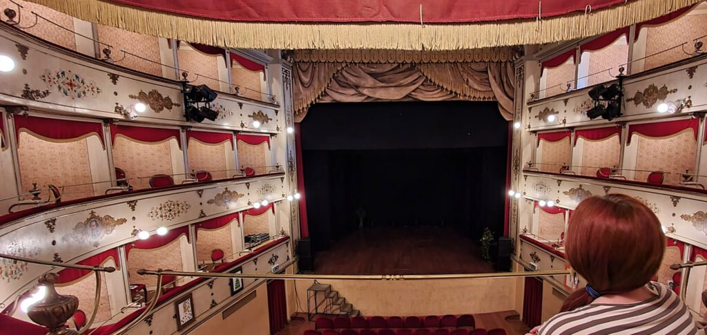 teatri nelle marche, teatro bramante, urbania cosa vedere