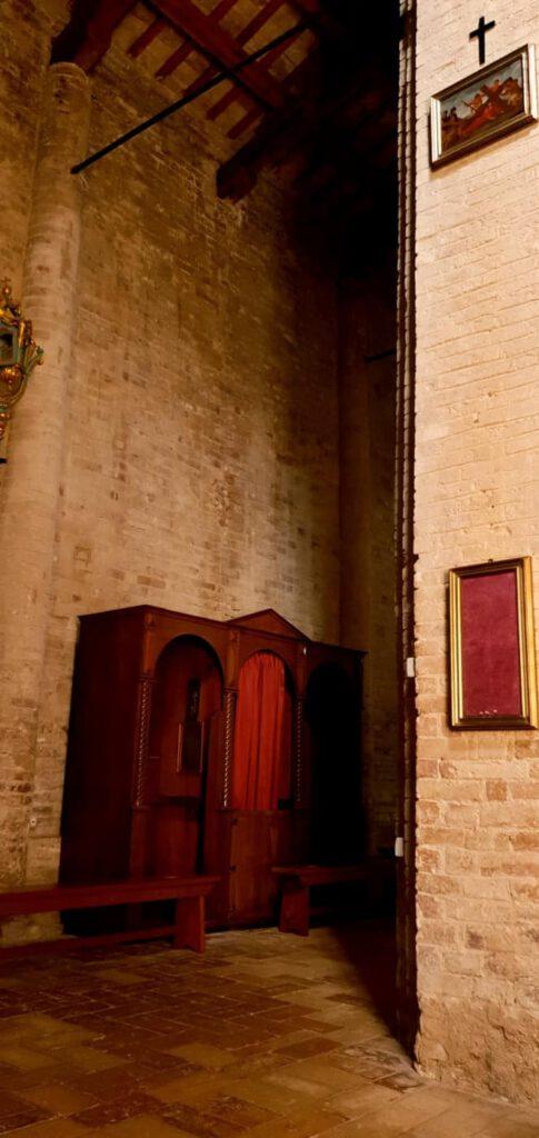 abbazia S. firmano, luoghi sacri marche