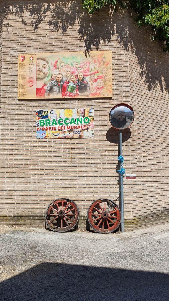 braccano murales, borghi dipinti marche, street art