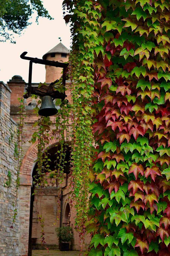 castello pallotta, autunno nelle marche
