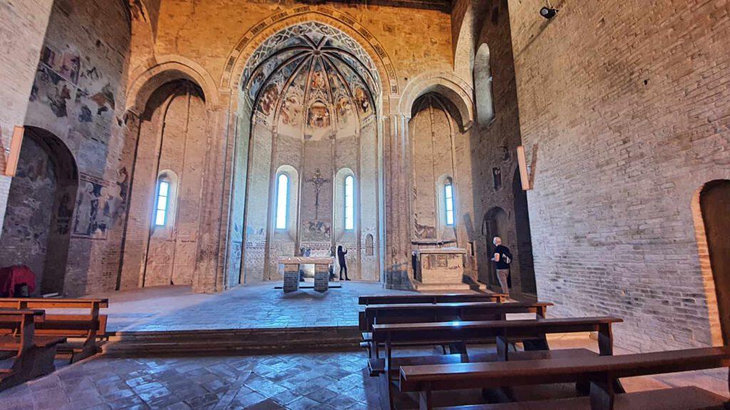 chiesa abbaziale s. maria della rocca